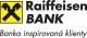 Úprava pravidel pro internetové platby u debetních karet Raiffeisenbank