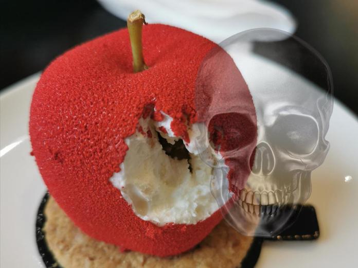 otrávené jablko